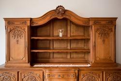 Antique furniture chest of drawers bookshelf