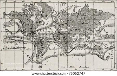 antique global ocean currents...