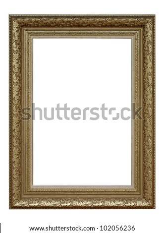 Antique gold frame royals classic style