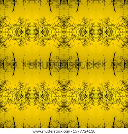 Antique Gold Pattern. Mexican Artisan Design. Oriental background.  Mexican Artisan Design. Shining Seamless Tie Dye Pattern. Damasck Decoration.