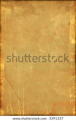Antique grunge textured paper close up photo , nice element for your projects
