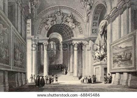 antique illustration of scala...