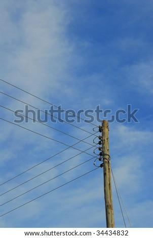 antique light pole