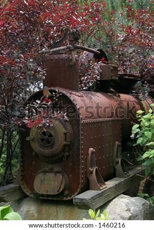 antique locomotive