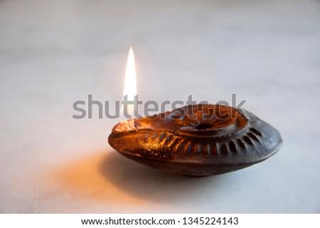 antique metal gas lamp #1345224143