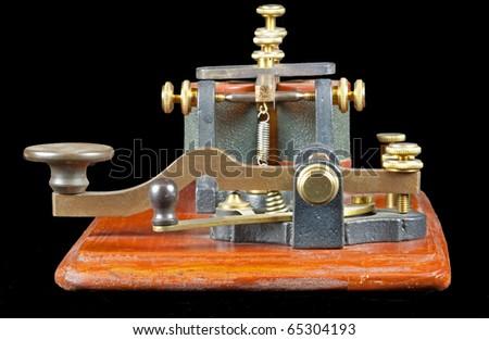 Antique Morse Key (c 1860)
