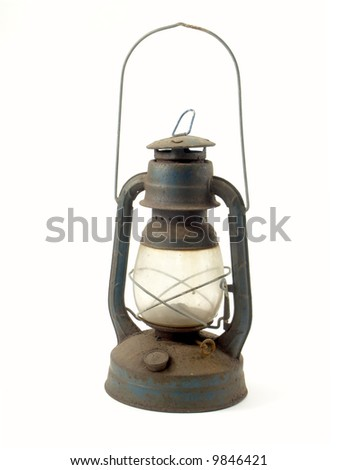 Antique Petroleum-Lamp Stock Photo 9846421 : Shutterstock