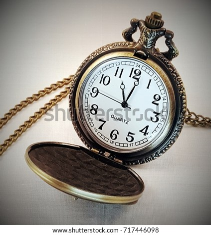 Antique pocket watch #717446098