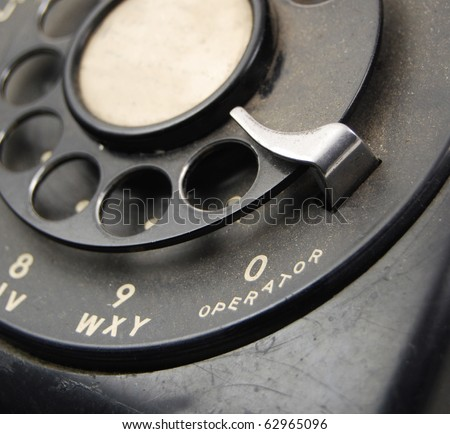 Antique Rotary Phone - Dial 0 for the Operator