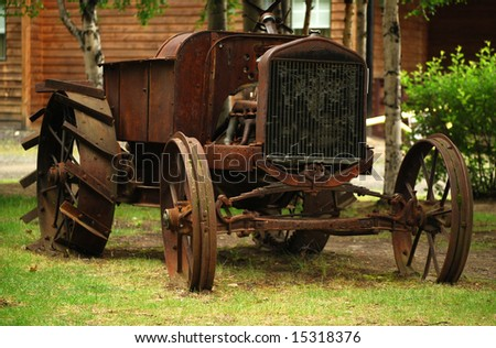 Antique rusty truck