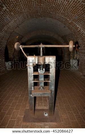 Antique Screw Mint Press Zdjęcia stock ©