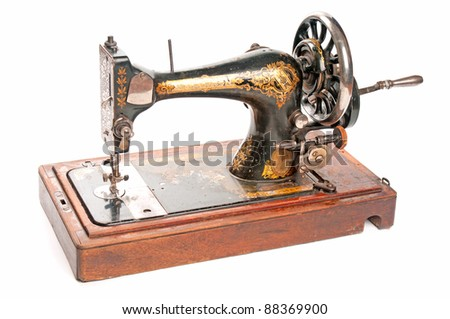 Antique sewing-machine