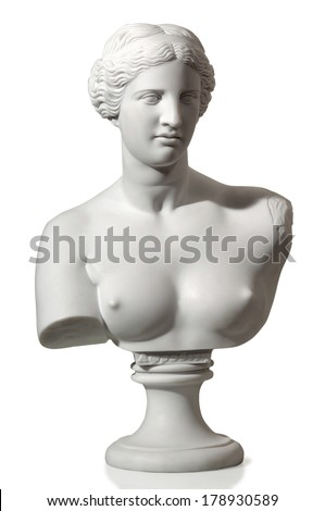 antique statue of a beautiful woman #178930589