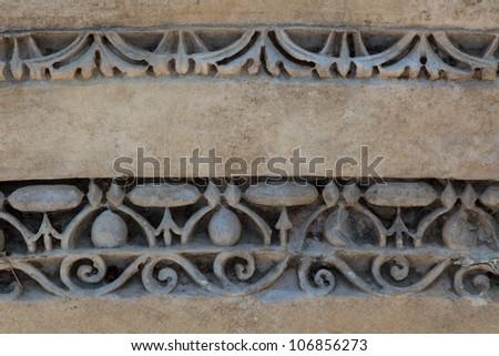 Antique stone pattern