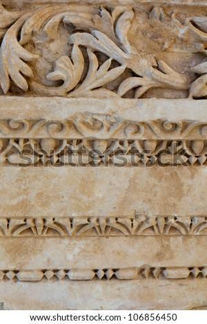 Antique stone pattern - stock photo
