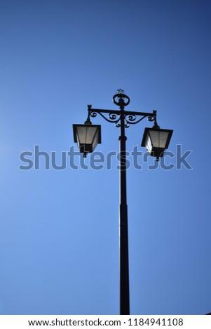 Antique Street Lamp  #1184941108