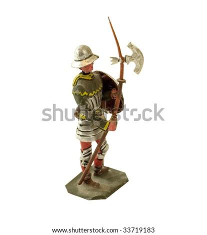 ANTIQUE TIN TOY SOLDIER