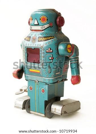 Antique Toy Robot