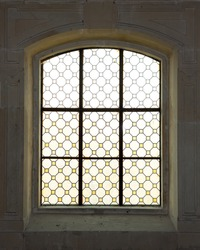 Antique window in the castle
