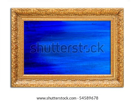 Antique Wooden Frames For Paintings Antique Wooden Gold Frame