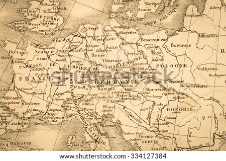 Royalty free antique old map europe 615191159 stock photo avopix antique world map europe 334127384 gumiabroncs Gallery