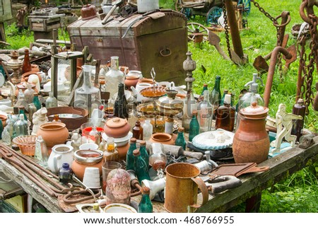 antiques, village, old, ancient things #468766955