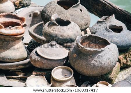 Antiquities are objects from Antiquity, especially the civilizations of the Mediterranean: the Classical antiquity of Thailand #1060317419