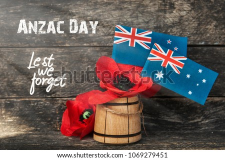 anzac day - Australian and New Zealand national public holiday  #1069279451