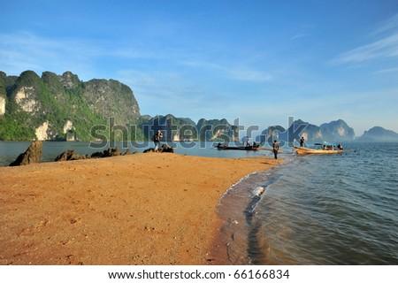 Ao Luk island south of Thailand, Krabi province, Thailand