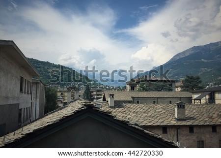 Aosta, Italy, Alps #442720330