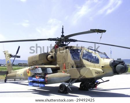 apache gunship helicopter