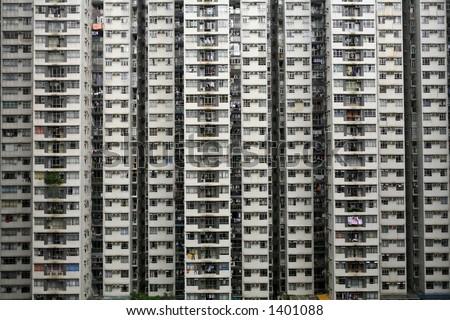 Apartment Block, Hong, Kong