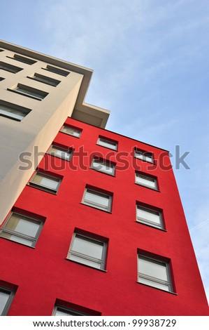 Apartment building, block of flats