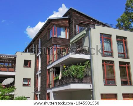 Apartment building in Berlin Friedrichshagen