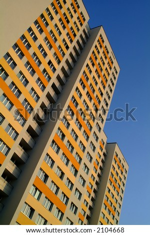 apartment building in east berlin