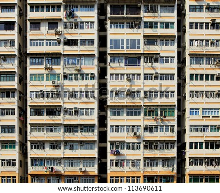 apartment building in Hong Kong