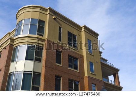 Apartment building, Residential architecture