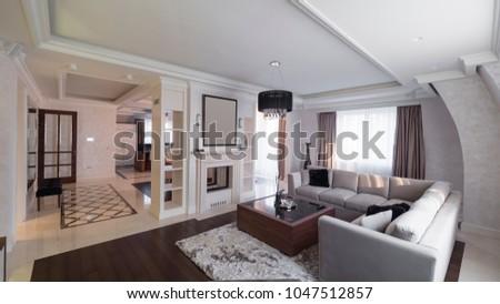 Apartment interior design #1047512857
