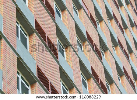 apartment windows pattern and design