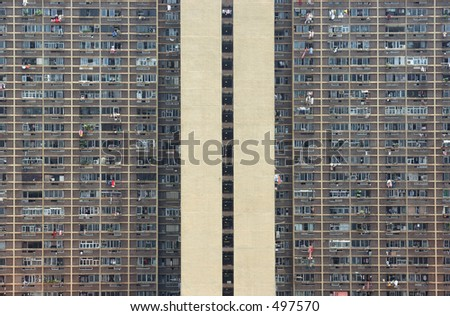 Apartments in a housing estate