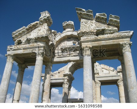 Aphrodisias Ancient City UNESCO World Heritage Site, Geyre, Turkey Stok fotoğraf ©