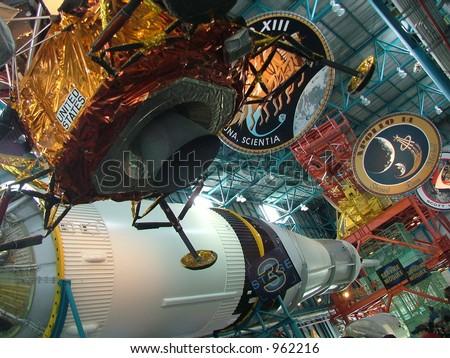 Apollo/Saturn V center at NASA's Kennedy Space Center