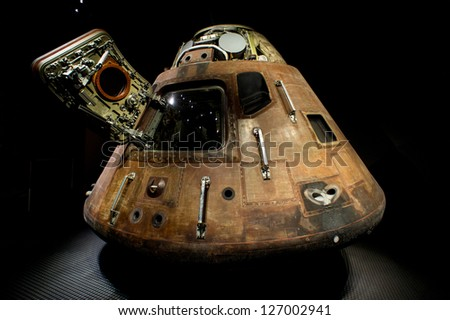 Apollo Spacecraft, Cape Canaveral, 12/08/2012