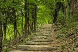 Appalachian Trail in West Virginia's Harpers Ferry