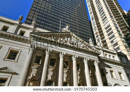 Appellate Division Courthouse of New York State by Madison Square Park in New York City. Photo stock ©