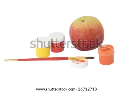 Apple and colours