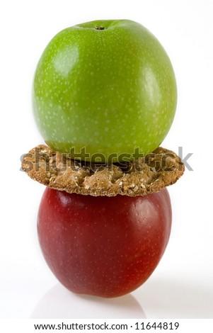 Apple and Crispbread