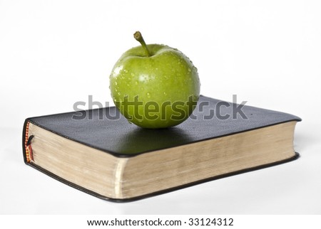 Apple and golden black Book