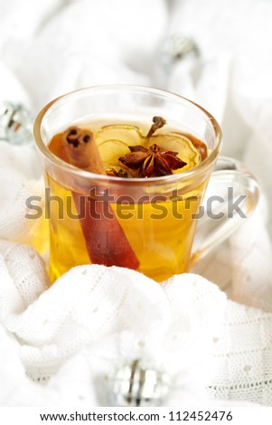 Apple cider - stock photo