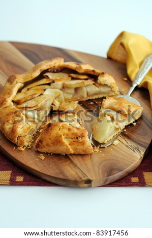 Apple Crostata With Cheddar Crust Stock Photo 83917456 : Shutterstock